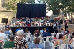 La Blai Net Band amb les persones refugiades