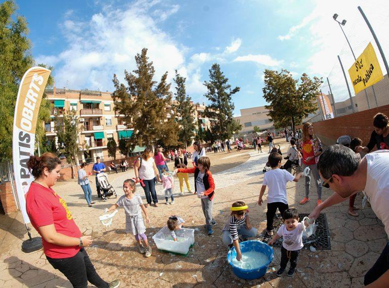 La ciutat presenta el projecte Patis Oberts