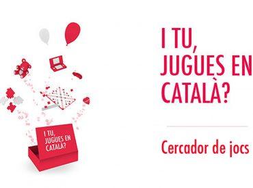 """Us presentem la pàgina web Jocs en català, que compta amb la incorporació de la campanya """"I tu, jugues en català?"""" l'objectiu de la qual és donar a conèixer els jocs i joguines en català i fomentar-ne l'ús. I també l'app Jocs en català per a Android i IOS. A la pàgina web Jocs en […]"""