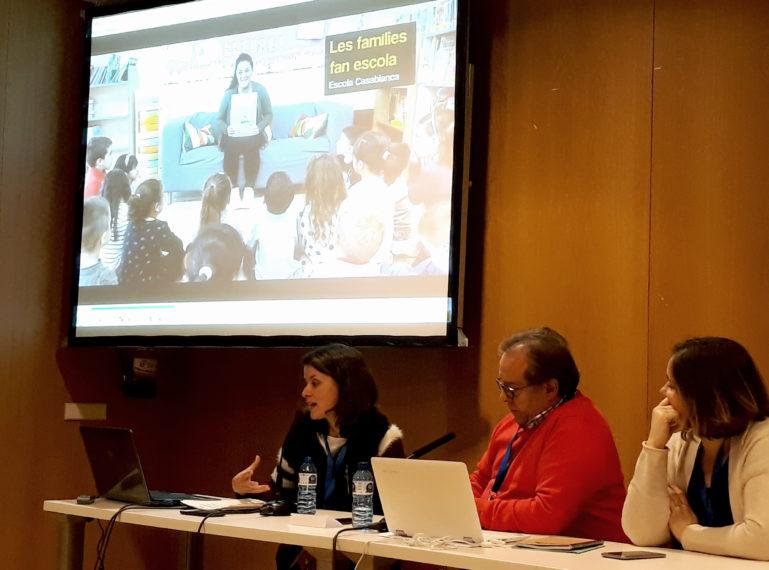 Sant Boi presenta el seu projecte d'escola i família a la trobada estatal de Ciutats Educadores