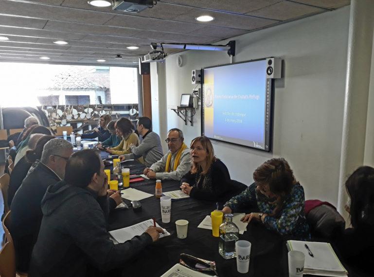 Sant Boi acull una nova trobada de la Xarxa Catalana de Ciutats Refugi