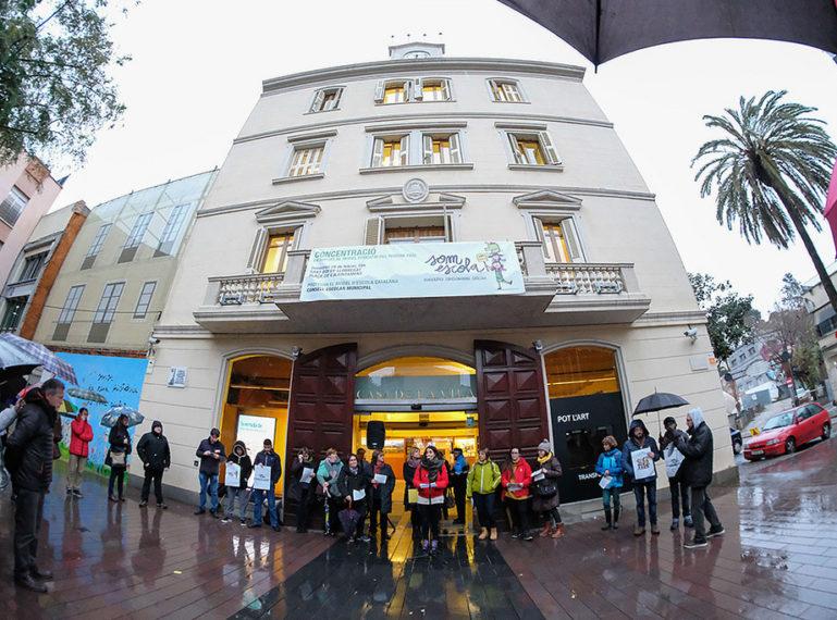 Sant Boi en lluita pel model educatiu català