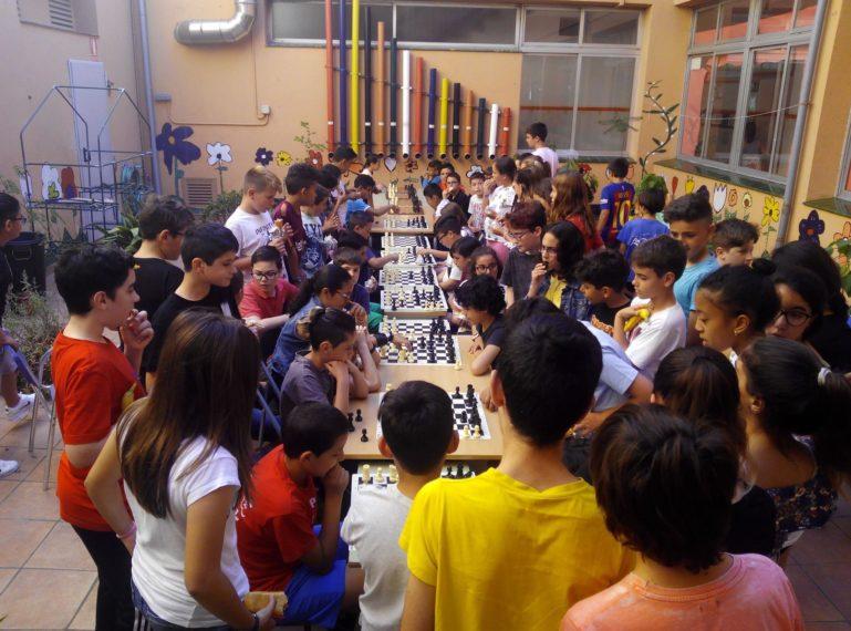 Escacs a l'escola