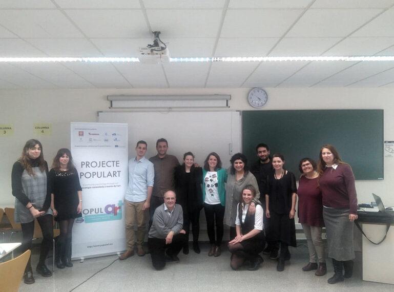 Reunió dels socis europeus de Populart a Sant Boi