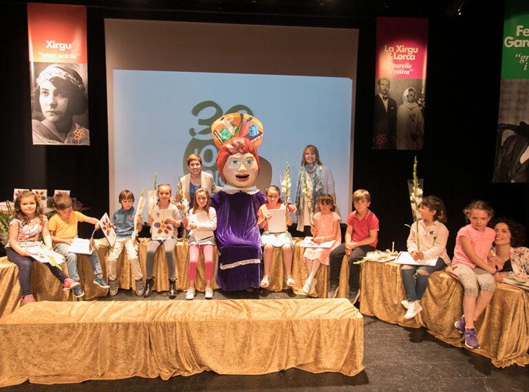 Alumnat, professorat i famílies a la 32a edició dels Jocs Florals