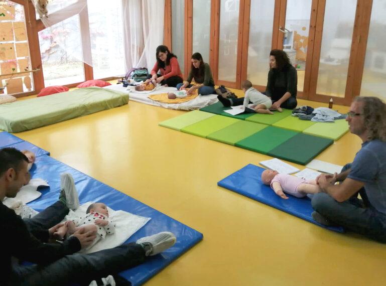 Taller de massatge infantil