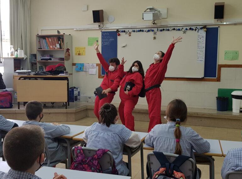 L'Edunauta arriba a les escoles de Sant Boi